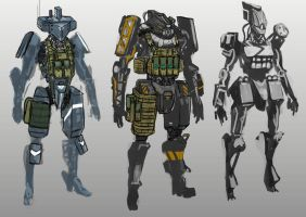Android Roughs by ManBean