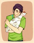 Chicken Hugging by Nimuell
