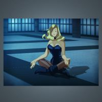 The Black Canary meditates by Des Taylor by DESPOP