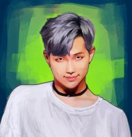 Choker Rapmon by CatheE123