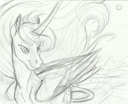 WIP-  The Moon No Longer Has Nightmares by Earthsong9405