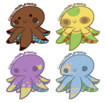 Octopus Adoptables [open] by bubbIies