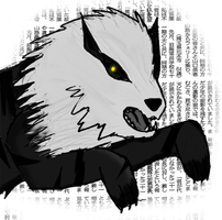 Black Arcanine by caneqe