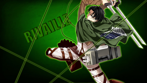 Corporal Rivaille Wallpaper by BlooddrunkDesigns