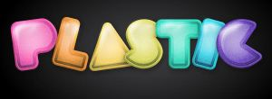 Tutorial: Plastic Text Effect by marywinkler