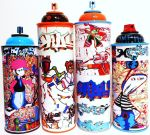 MF-mink Spray can collection IIII by MF-minK