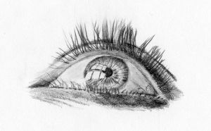 Eye drawing 15 by IYIaglin