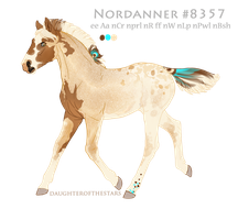 Foal #8357 by NorthEast-Stables