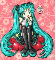 Miku Lineart_fog-mire.colored. by LilHeart