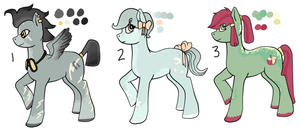 MLP Adoptables (Points and money) 2 - GONE by Railguns