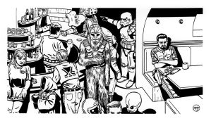 Star Wars - Cantina by SteamPoweredMikeJ