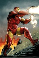 Iron Man by MarkHRoberts