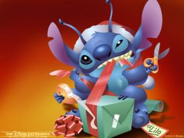 A Christmas with Stitch by DestinyRelease
