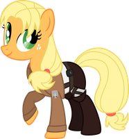 Shingeki no Pony Apple Marco by DZMaylon