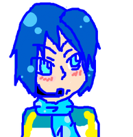 iScribble Kaito by GaarasGurl123