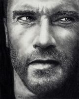 Arnold Schwarzenegger by Rick-Kills-Pencils