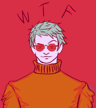 Aph:Gil wtf by prussiaGilbo
