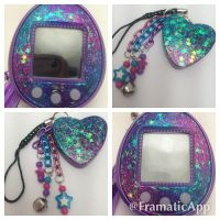 Tamagotchi Faceplates and Charms Galaxy by TiellaNicole