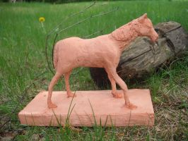 Horse sculpture by Nepook