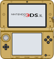Nintendo 3DS XL [A Link Between Worlds] by BLUEamnesiac