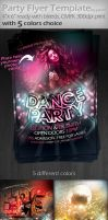 Party Flyer Tamplete by yuval10203