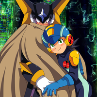 Rockman.EXE X Forte.EXE by DLN-00X