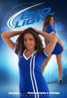 Bud Light Promo Poster by DigitalPhenom
