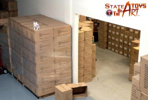 Warehouse Guard Wolf.  Daily photo by StateOfTheArt-toys
