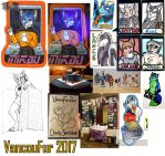 VancouFur 2017 Art Collage by Temrin
