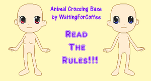 Animal Crossing Base by WaitingForCoffee