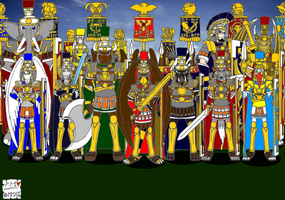 The Legions of the Empire 1: The Legionnaires by DragonSnake9989