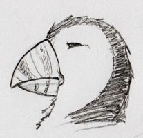 The Noble Puffin by SimonGannon