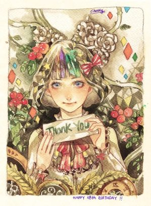 Thank you by Chucky-tan