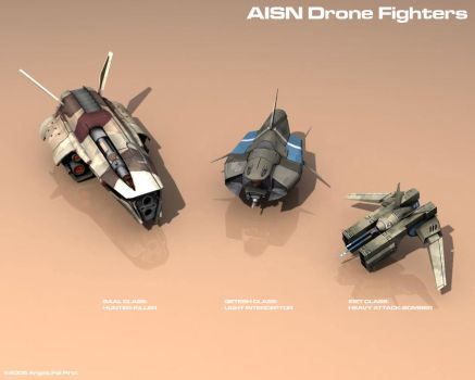 AISN Drones by KrisWood