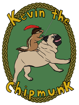 Kevin the Chipmunk by izumichan37