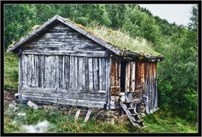 Crofter's cottage in Kjelvik II by spider-inge