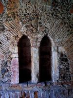 Gothic ruins VI - window by Vrolok-stock
