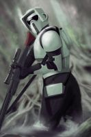 Scout Trooper - Recruit by matthewmcentire