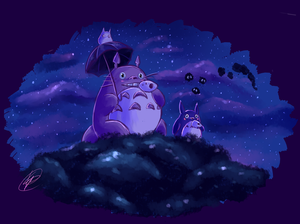 Totoro by Toontown-Slendy