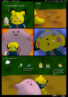 Chansey Found you Comic by Threehorn
