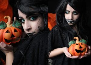 Dark Witch Makeup by SelyaChan