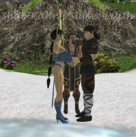 Kitana and Liu Kang Get Married by Shang Tsung by ShaoKahnsSlaveLilith
