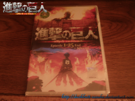 Attack on Titan Official DVD by Levi-Ackerman-Heicho