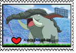 Ash's Donphan fan stamp by Fran48