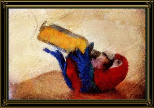 Drunk Parrot by fmr0