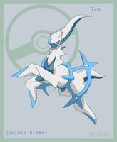 Ice Arceus by KanyMon