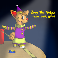 Zoey's Highwire Act by SpectrePaw