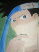 Zabuza and the Fang of Doom by kaOtic-saNity