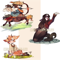 MONSTERBOY ADOPTS!!- CLOSED by Cate-adoptables