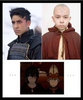 Zuko and Aang's Characters by KnottyMaGe